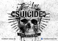 Bild von TRUE LOVE IS SUICIDE - STICKER