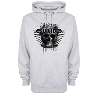 Bild von TRUE LOVE IS SUICIDE - HOODY (grau)